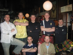 Old fashioned team pic 2
